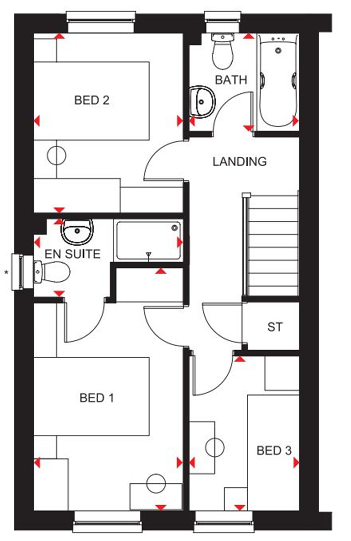 Barratt Homes Floor Plans