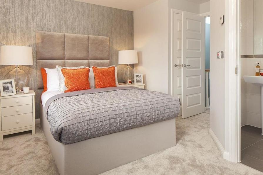 Similar Tiverton Show Home Bedroom