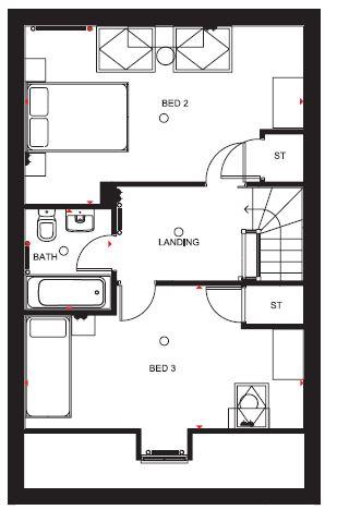 Kingsville Ginnel Second Floor