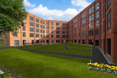 Exterior view of our apartments at Berrington Place in Birmingham