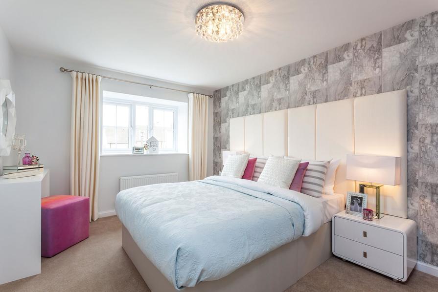 Tetbury bedroom interior