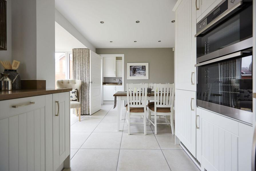 Typical Tetbury dining area to the fitted kitchen