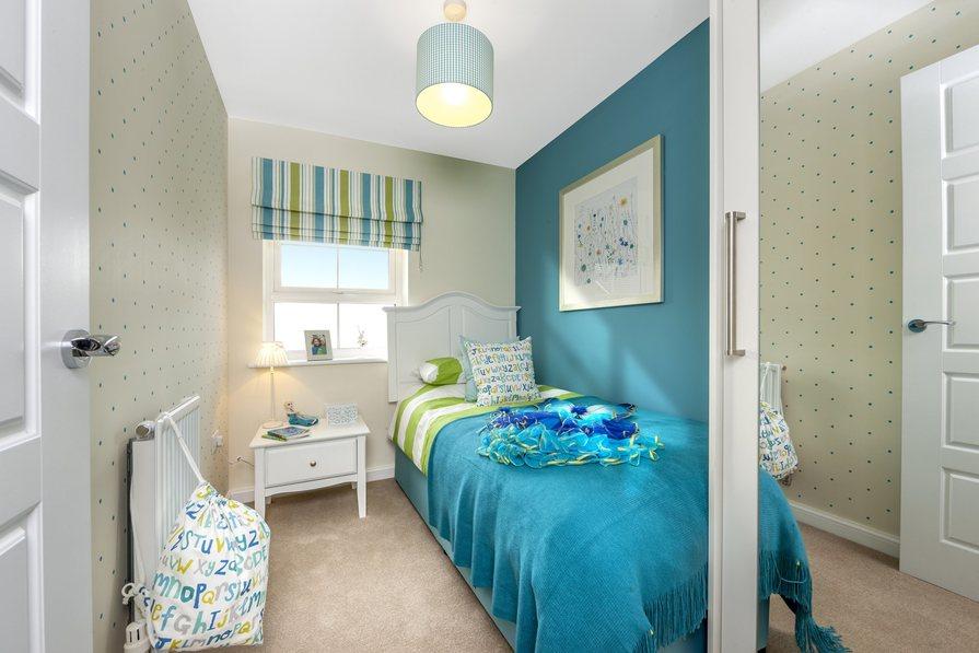 The Barwick bedroom 3 at Bishop Park, Henfield