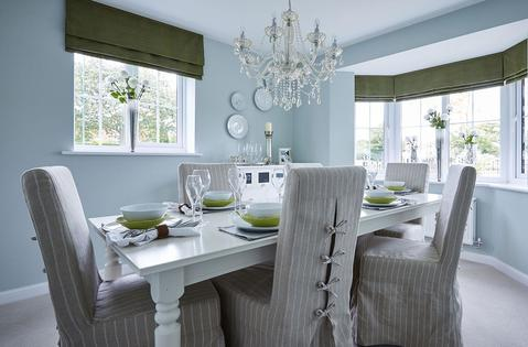 Bowbrook Meadows Alnwick separate dining room