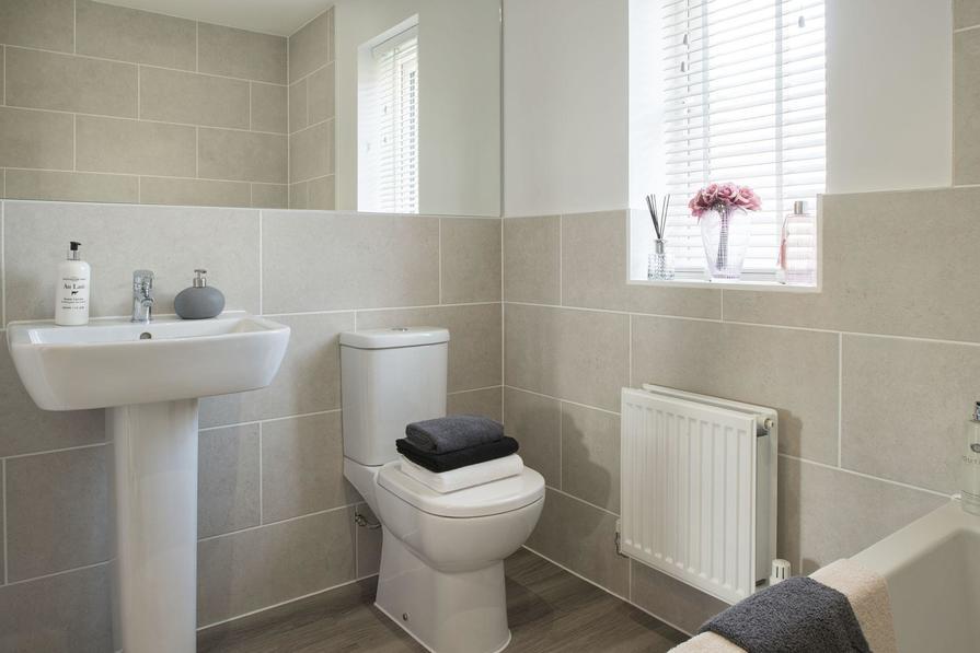 Typical Cambridge family bathroom
