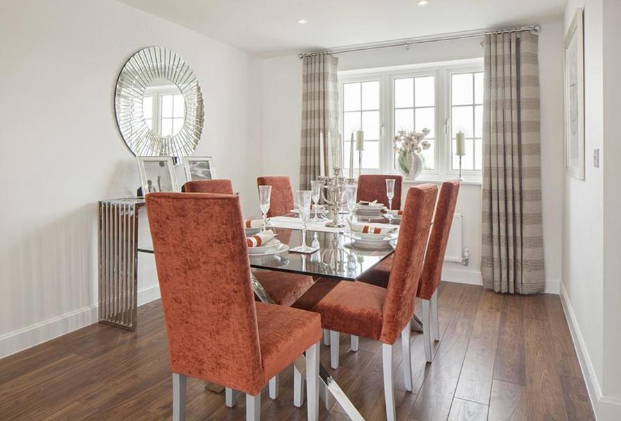 Typical Thornbury dining interior