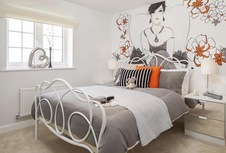 Typical Thornbury bedroom interior