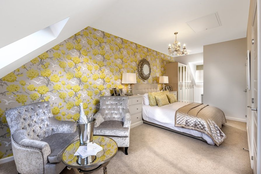 The Padstow master bedroom