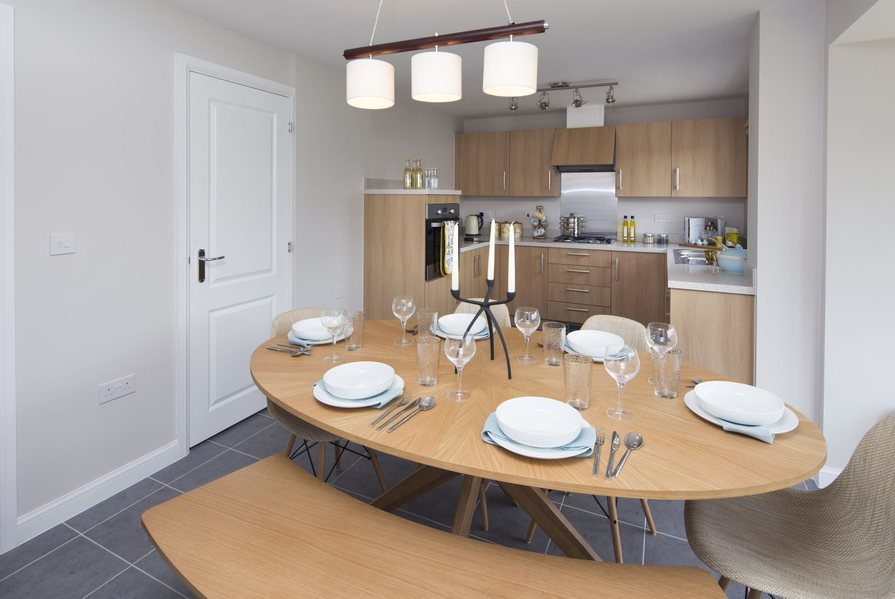 Typical Tavistock leading to the fitted kitchen