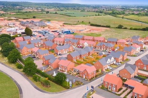Development Drone View - Dunstall Park