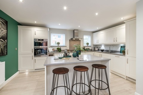 Interior view of our 4 bed Alderney kitchen