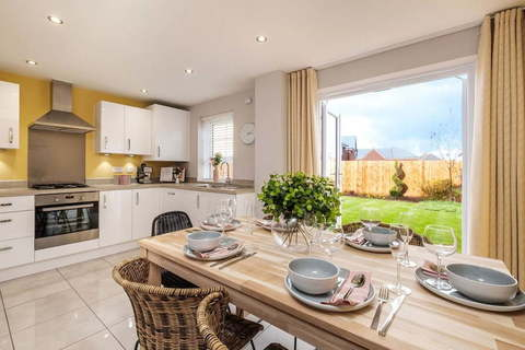Interior of 3 bed Maidstone kitchen & dining
