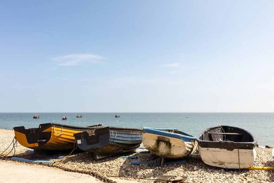 East Beach Walk, Selsey