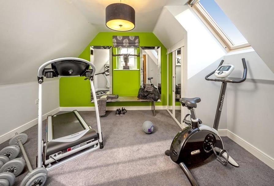 Bedroom/ gym