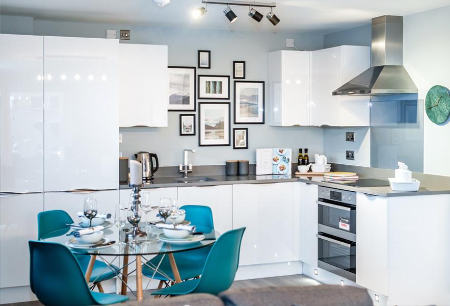 Apartment Kitchen Dining