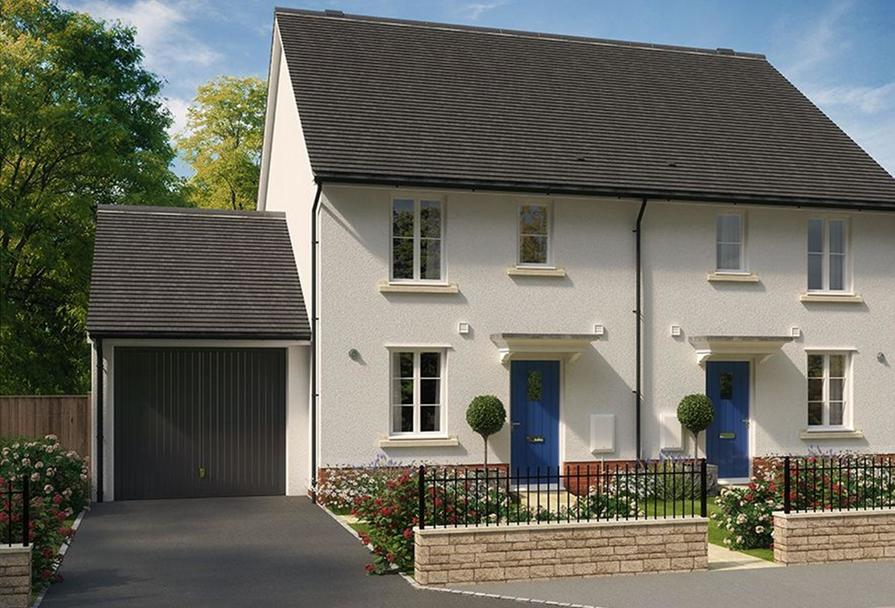 3 bed new home for sale in Newton Abbot