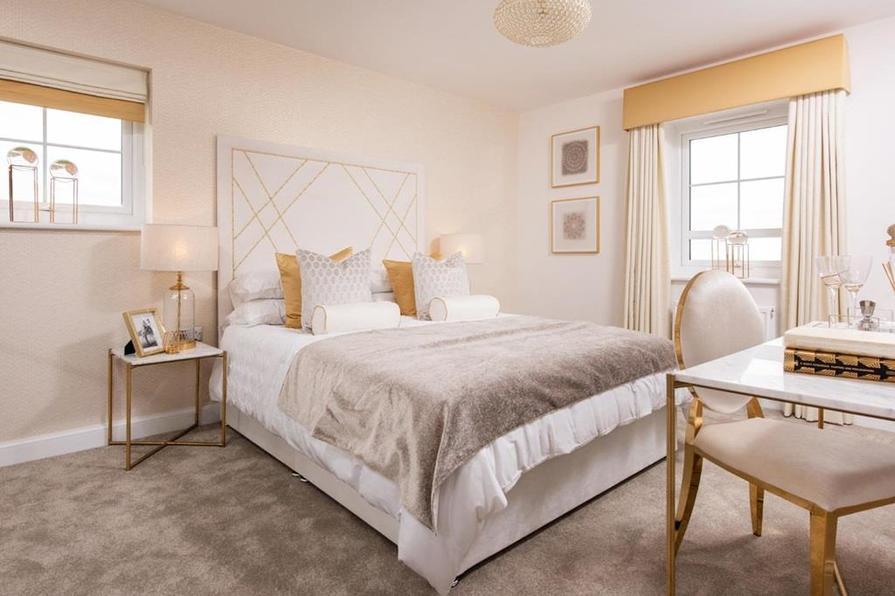 Alderney master bedroom
