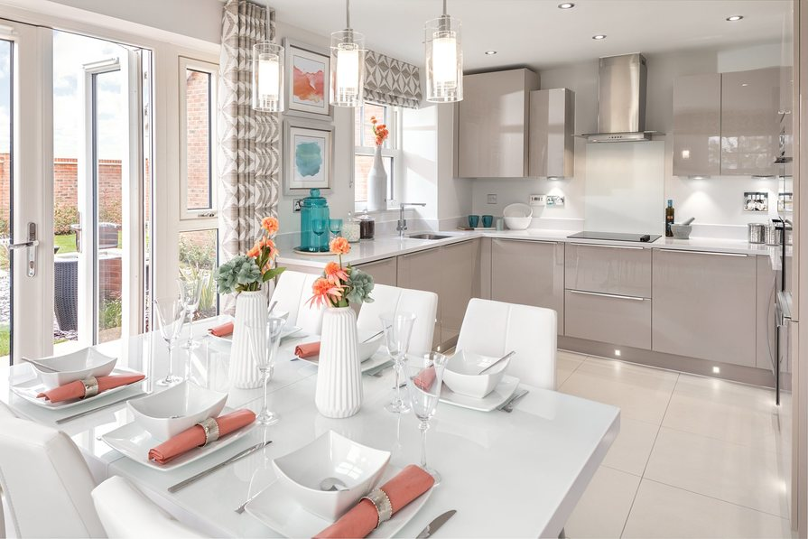 Hesketh kitchen and dining area