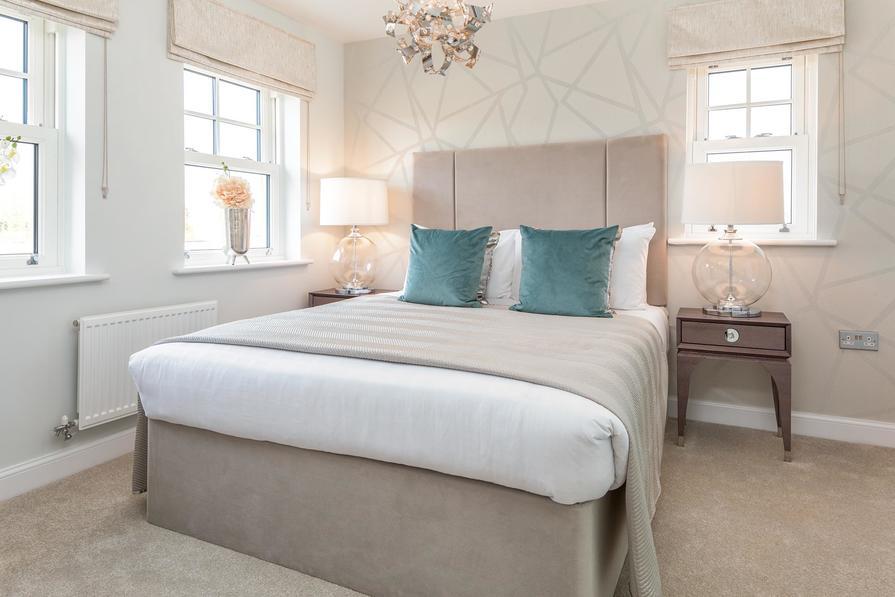 Hesketh master bedroom