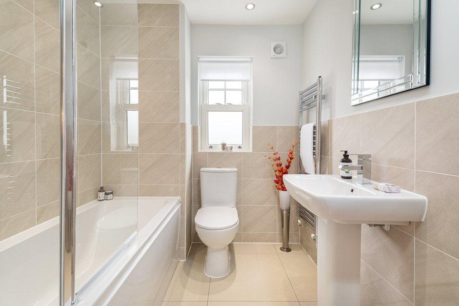 Typical Hesketh bathroom