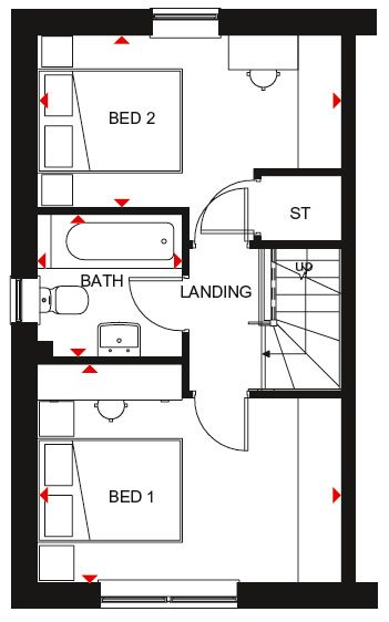 Washington first floor plan
