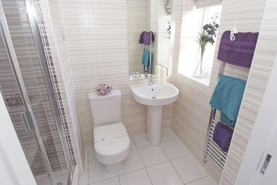 En suiter shower room