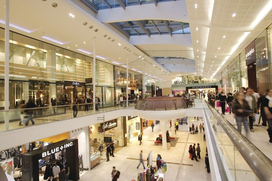 Derby shopping centre