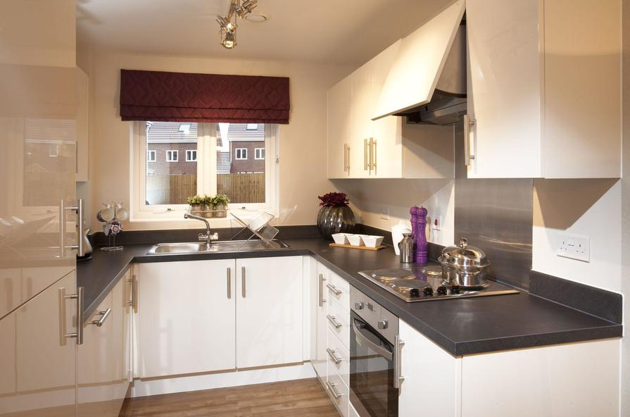 Typical Bromwich B fitted kitchen