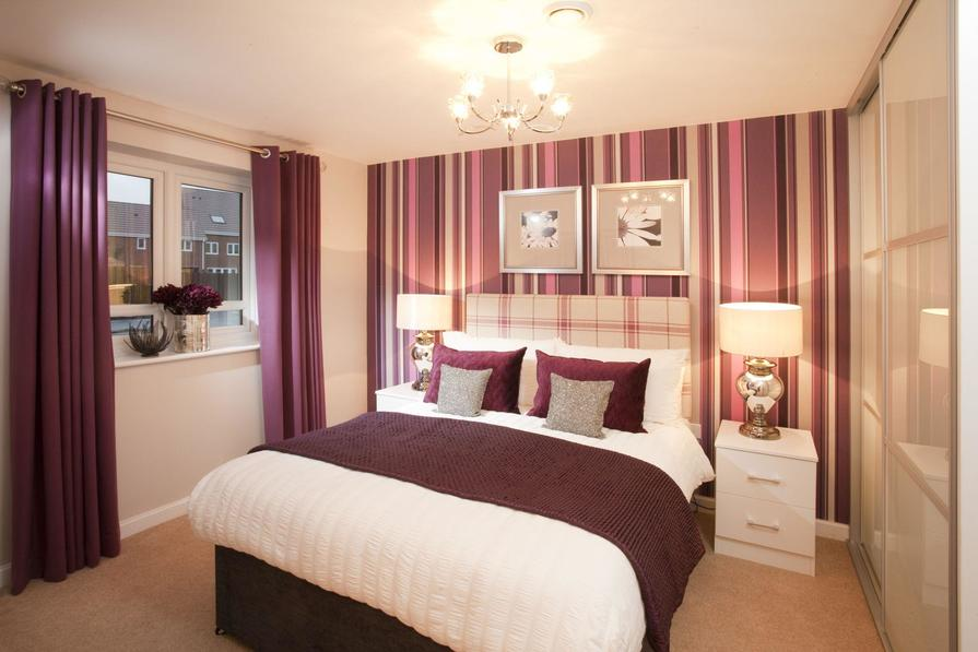 Typical Bromwich B main double bedroom