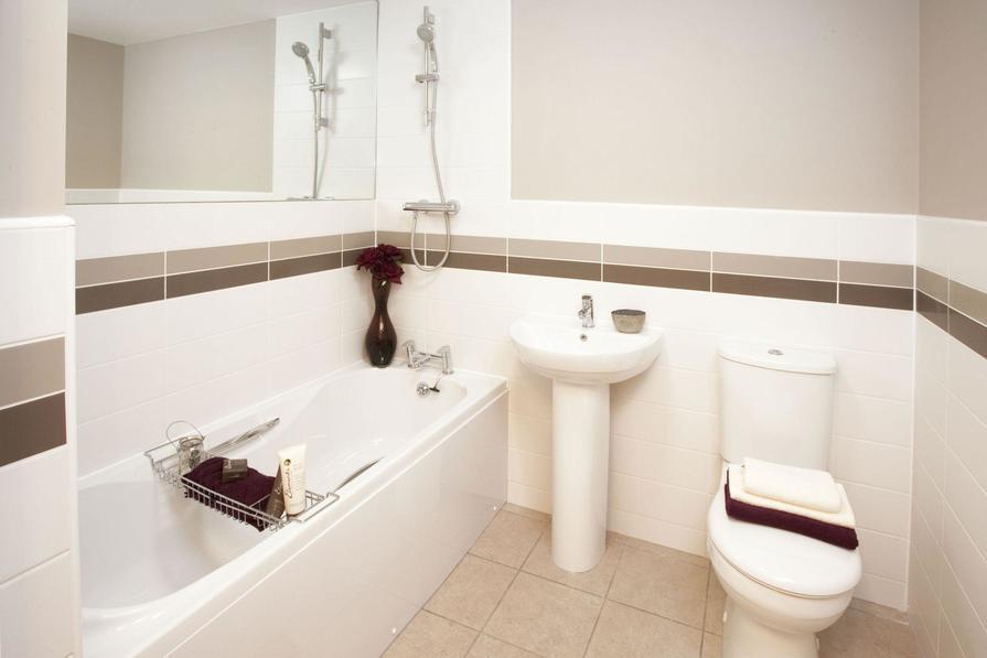 Typical Bromwich B bathroom