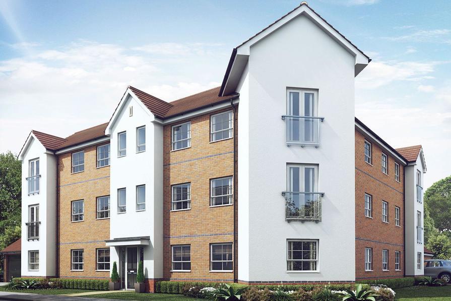 Bromwich apartment exterior