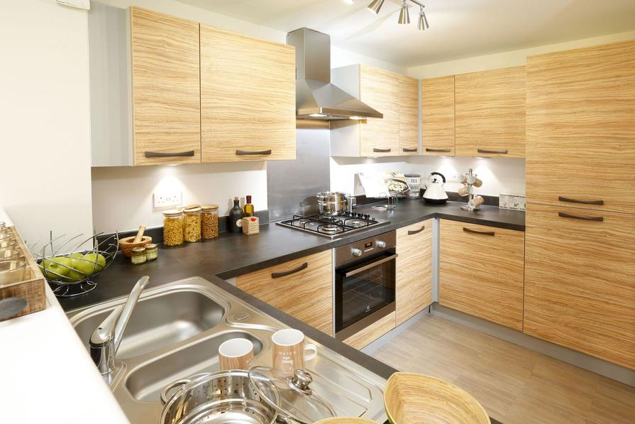 Typical Rochester fitted kitchen