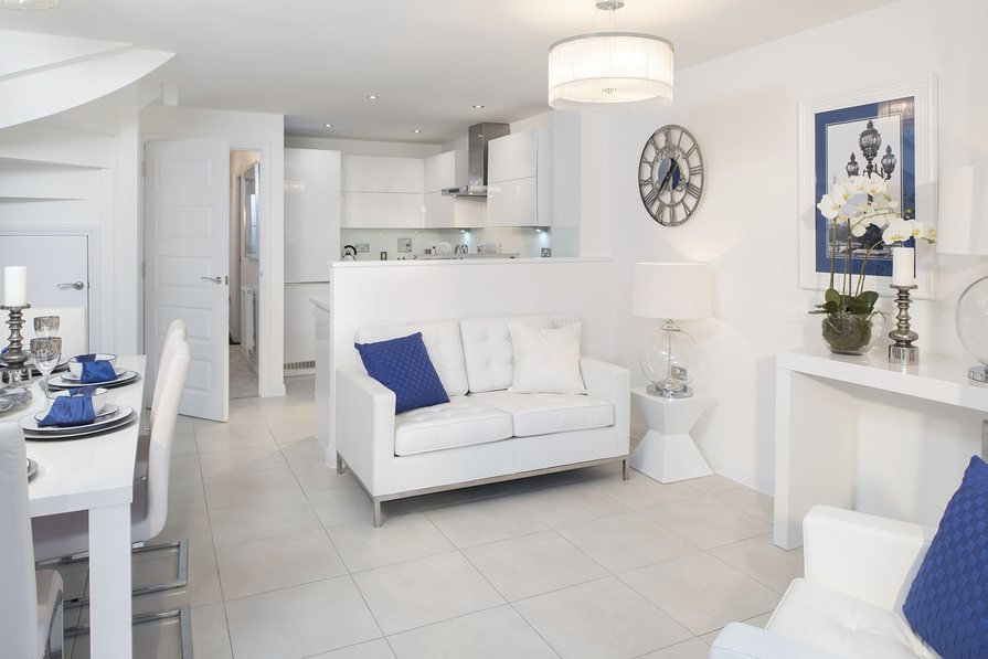 Typical Rochester fitted kitchen, family and dining area
