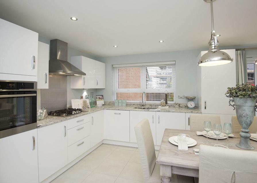 Typical Chesham fitted kitchen