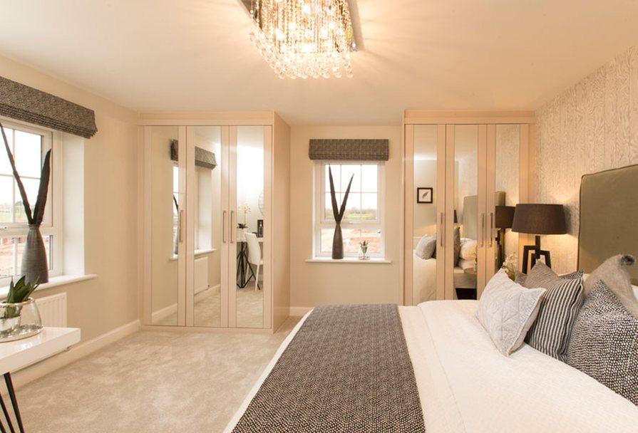 Brentwood double bedroom