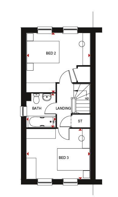 Fawley second floor plan