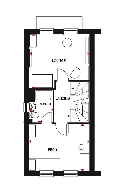 Fawley first floor plan