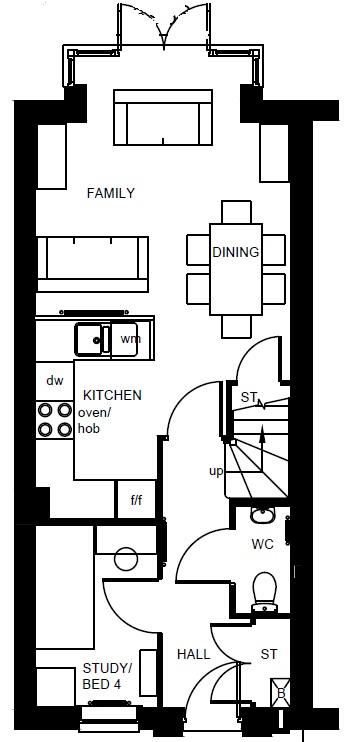 Fawley ground floor