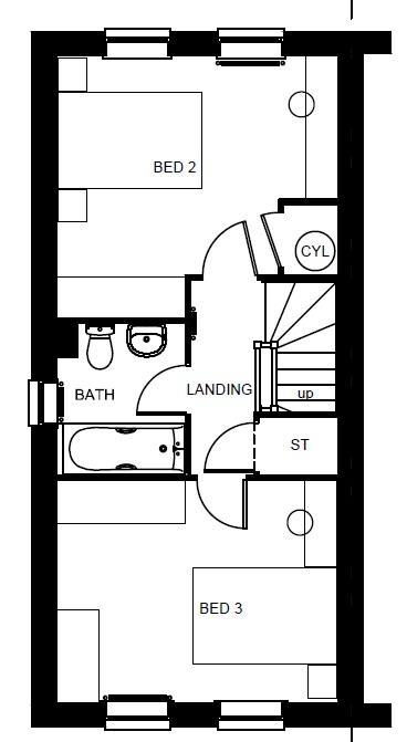 Fawley second floor