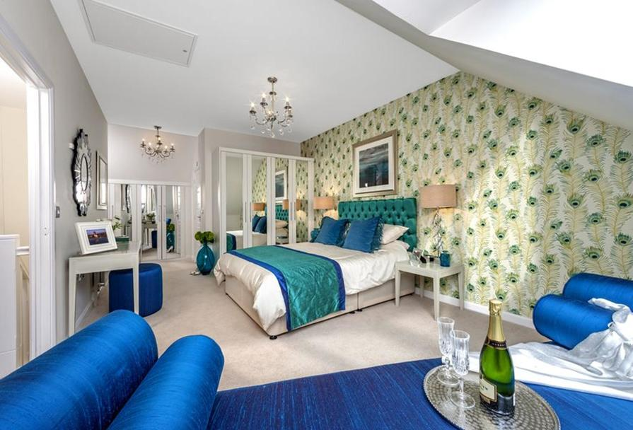 The Woodvale master bedroom