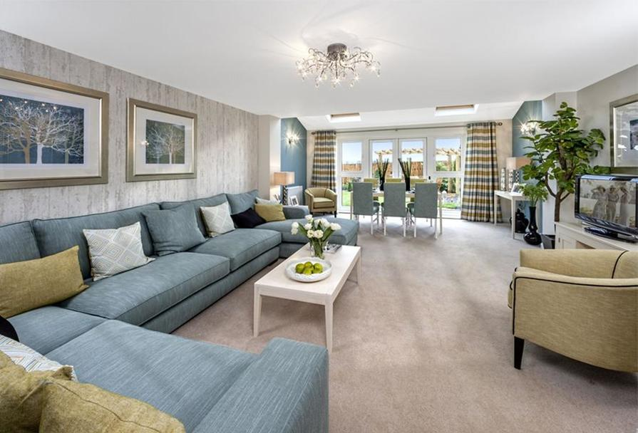 The Woodvale living room
