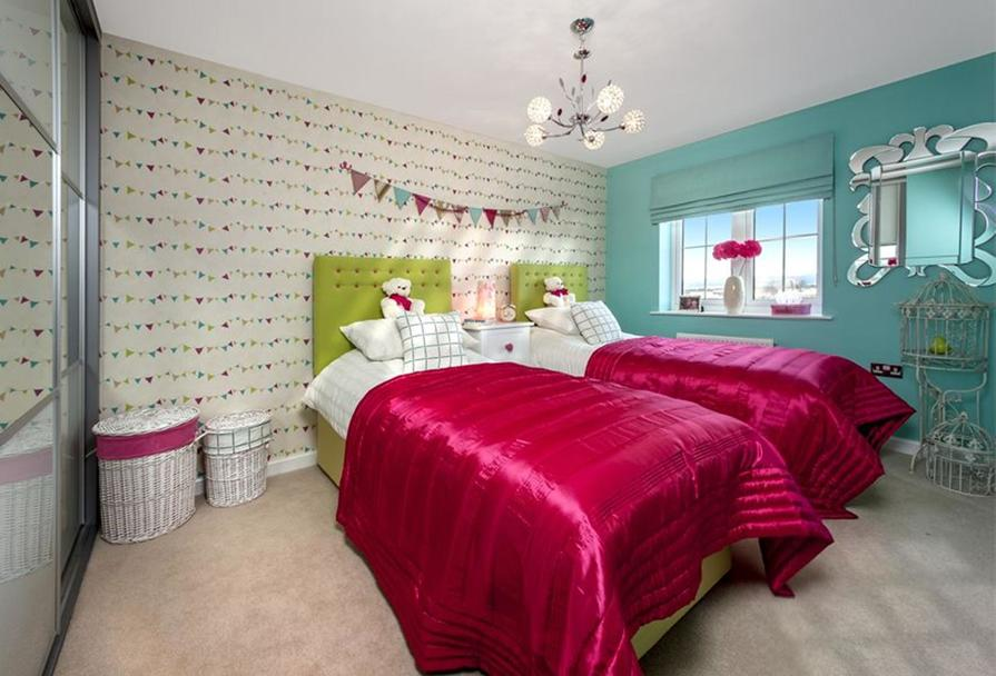 The Woodvale bedroom 3 at Kingley Gate