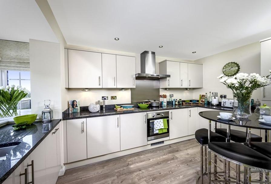 The Woodvale kitchen at Kingley Gate, Littlehampton