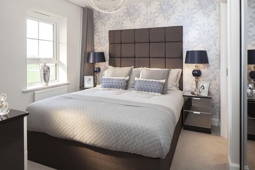 Typical Kington master bedroom bedroom