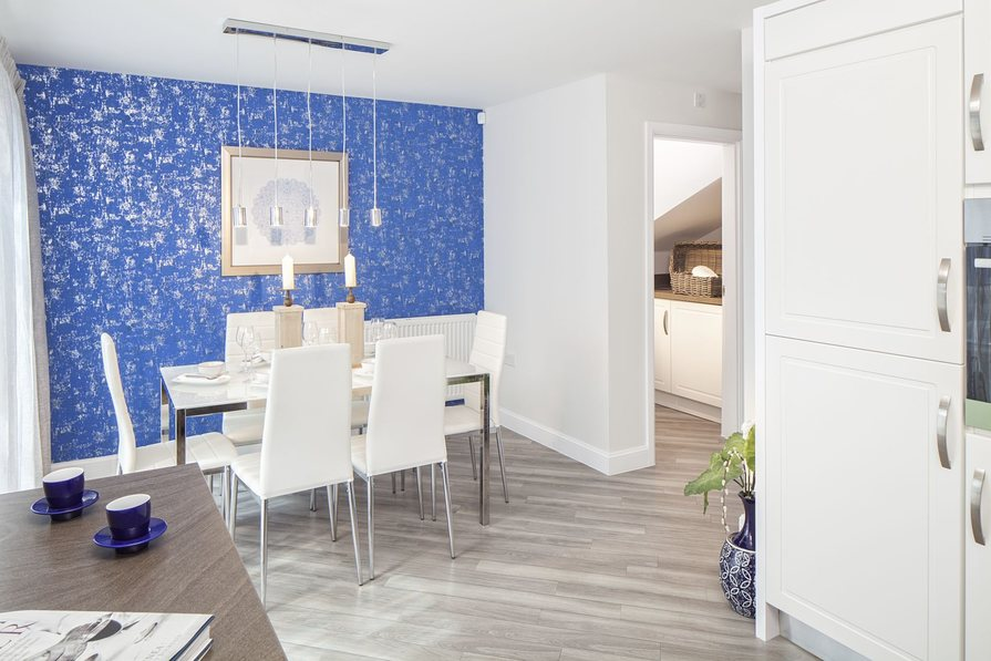 Typical Kington dining area to the fitted kitchen