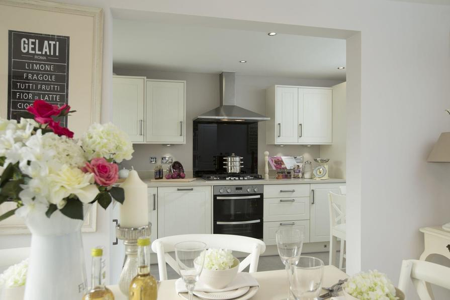 Typical Morpeth fitted kitchen