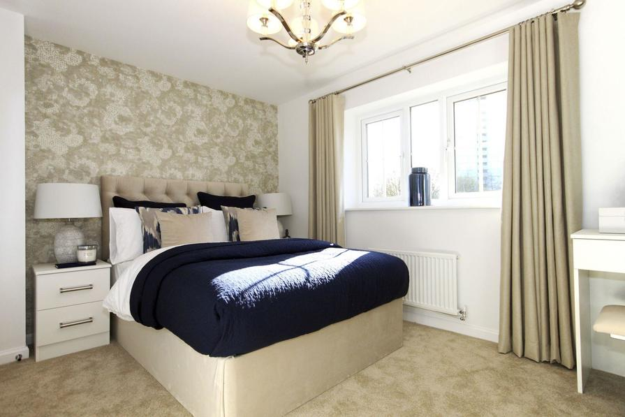 Typical Dartmouth master bedroom