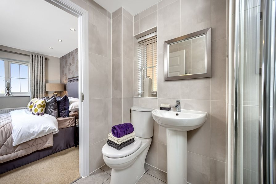 En suite from beautiful bedroom