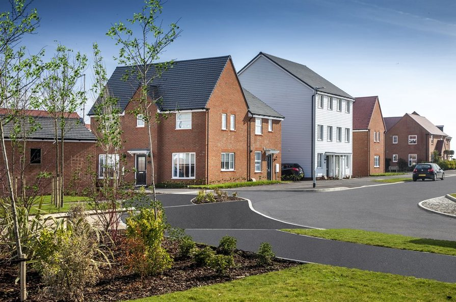 Local area image typical of Barratt Homes