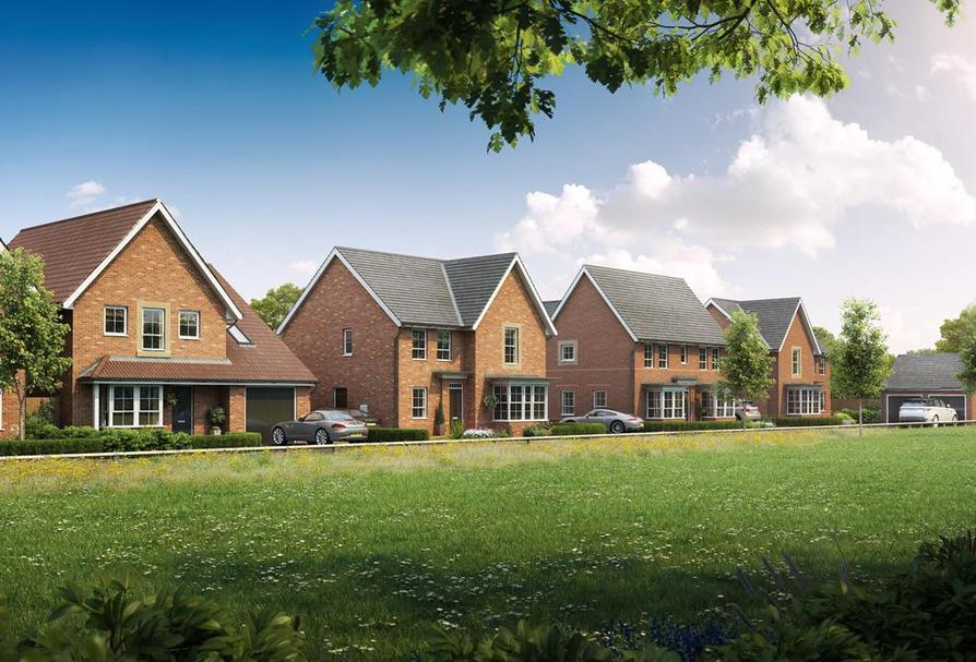 Meadow fields in boroughbridge 3 4 bedroom houses for Meadow house